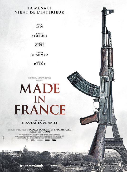 made in france - affiche du film