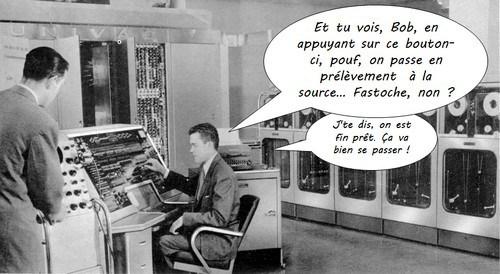 informatique et prélèvement à la source