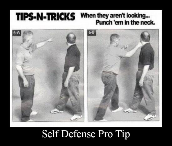 self defense pro tip
