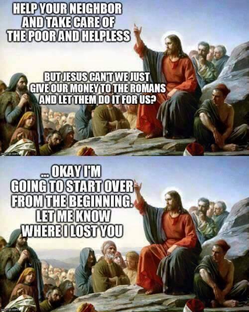 jesus vs socialists