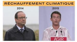 rechauffement climatique hollande valls