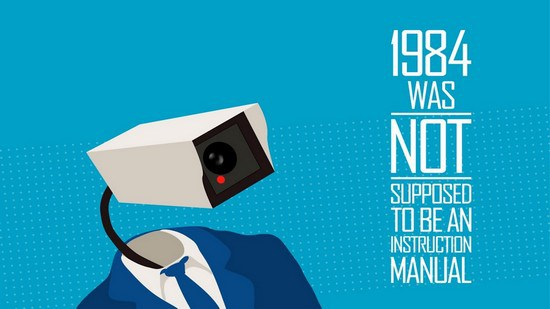 Orwell's 1984 was not supposed to be an instruction manual