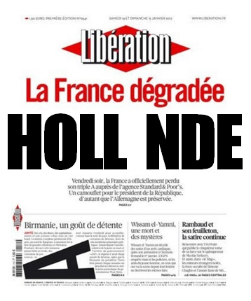 une libé hollande degradé