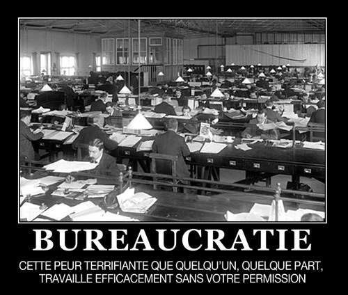 demotivateur bureaucratie