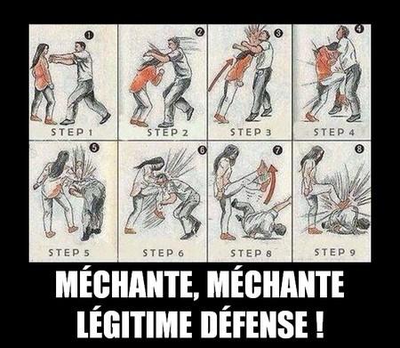 méchante méchante légitime défense