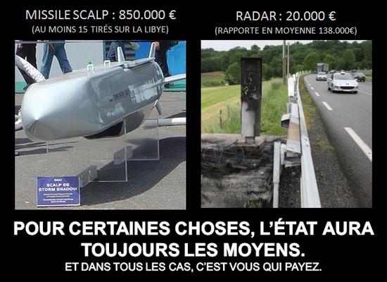 radar et missile