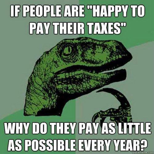 philosoraptor taxes