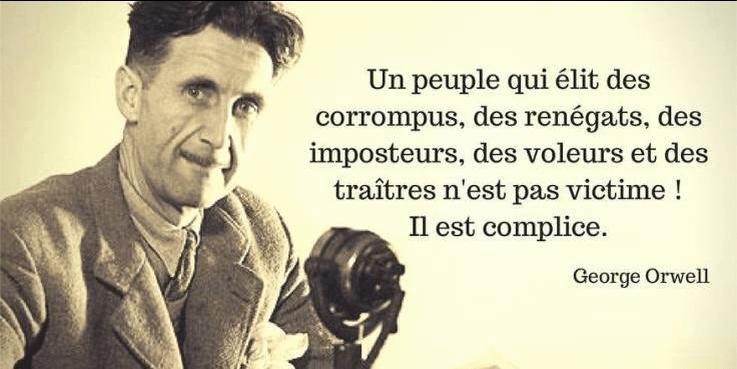 orwell peuple complice