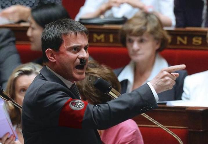Valls s'excite