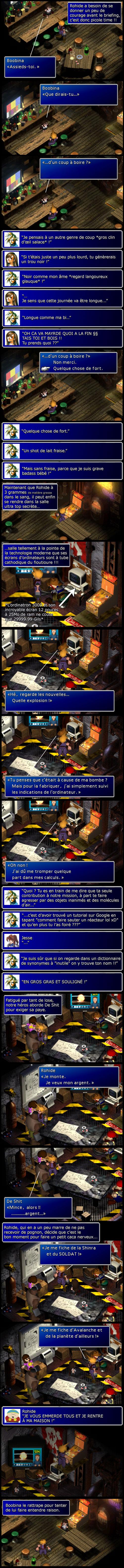 Final fantasy 7 : Cloud drague Tifa avant de s'aventurer dans la base top secrète