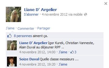 Facebook de Liane
